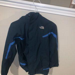 The North Face rain jacket and rain breaker